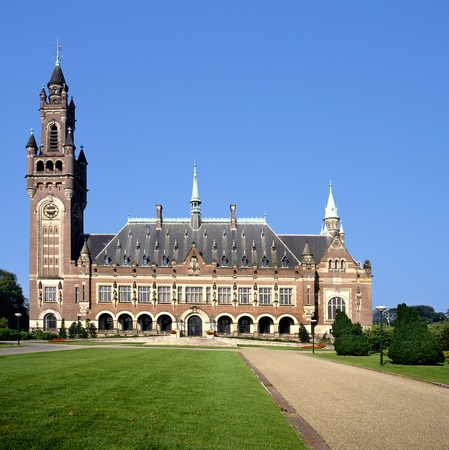 The Peace Palace in The Hague( Holland) is home to a number of international judicial institutions, including the International Court of Justice (ICJ) , the Permanent Court of Arbitration (PCA)