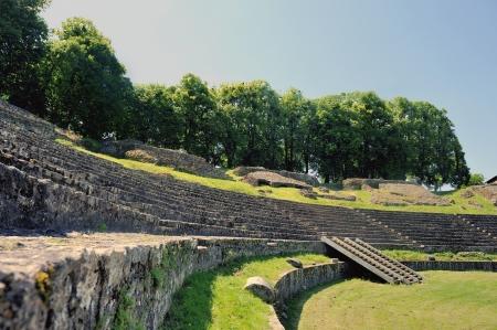 amphitheatre: Roman Amphitheatre  Stock Photo