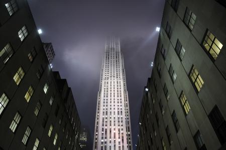 commercial real estate: Nueva York, EE.UU. - 12 de noviembre 2012 The Rockefeller Center es un centro comercial de bienes ra�ces ubicada en la ciudad de Nueva York