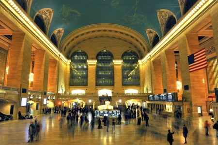 The Grand Central Station in New York, USA Editorial