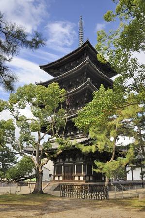 kink: The Five-story Pagoda of Kofukuji in Nara is an Unesco World Heritage site