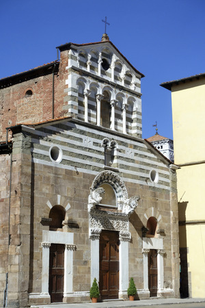 The church of San Pietro Somaldi is a church of Lucca, located in the same name square. Founded in the 8th century by King Astolfo to the painter Aurblerto, it was rebuilt at the end of the twelfth century.