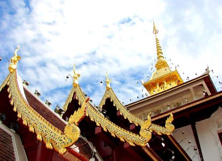 mea: Wat Pha Darabhirom, Mea Rim, Chiang Mai Province, Thailand