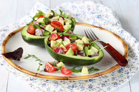 Avocado salad photo