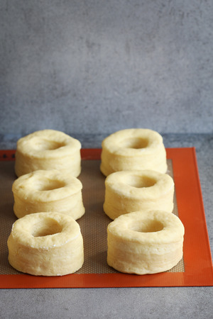leavening: Proofing donut dough