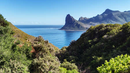 The Sentinel or Hangberg is a peak marking the western end of the mouth of Hout Bay in South Africa.