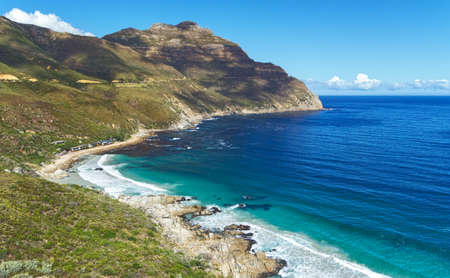 Chapman's Peak Drive, Hout Bay, Cape Town, South Africa. Stock Photo