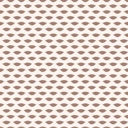 Vector repeat beige brown lips pattern print