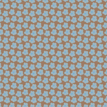 Colorful vector little flowers repeat pattern 向量圖像