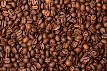 texture background: Coffee grains