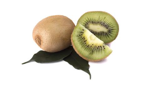 quartered: Quartered kiwi