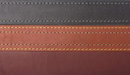 As correias de couro de textura
