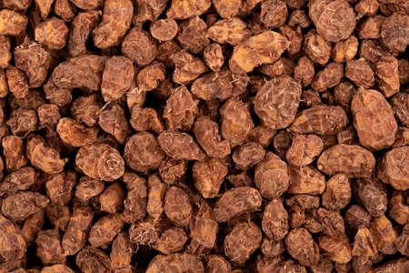 Tigernuts background. Chufa nuts or tiger nuts