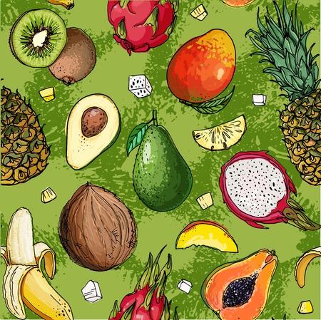 Pattern of fruit