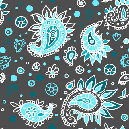 Pattern Turkish cucumber vector color texture