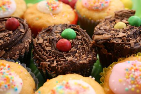 Cup Cakes in Vanilla and chocolate