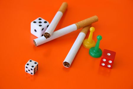 habbit: Cigarettes and dice, a gamble with your life