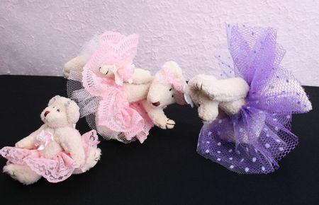 teddy bears: Hecho en casa, hecho a mano osos de peluche con traje de ballet