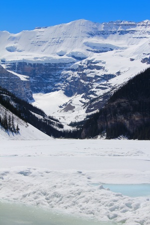 Lake Louise in Banff National Park, Alberta Canada photo