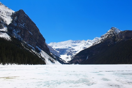 Lake Louise in Banff National Park, Alberta Canada Stock Photo - 9698162