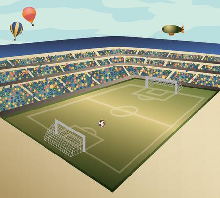futbol: Campo di calcio