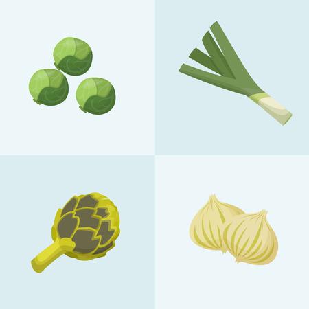 Los vegetales verdes Foto de archivo - 35151443
