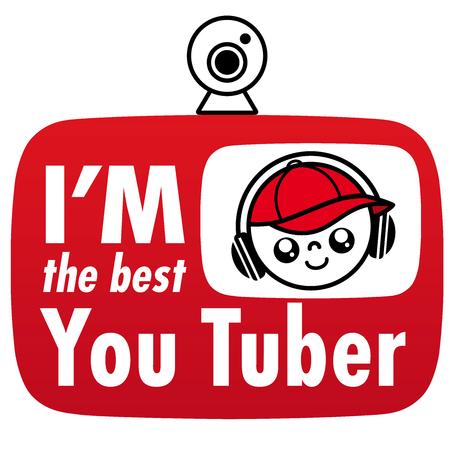 Youtuber, social network, Emoticon, icon, Boy, Child, webcam, headphones, headset, cap