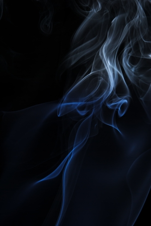 Smoke on dark Stock Photo - 14675215