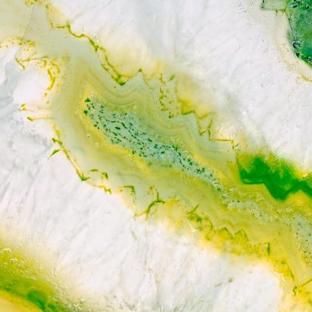 Agate geode macro. Kazakhstan