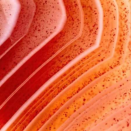 carnelian: Red agate macro