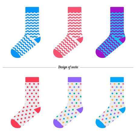 original design: Set of socks with the original design