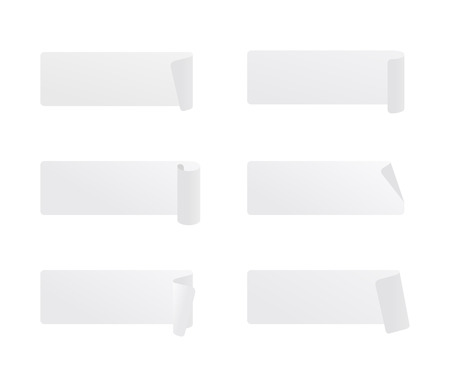 Vector set of transparent tapes
