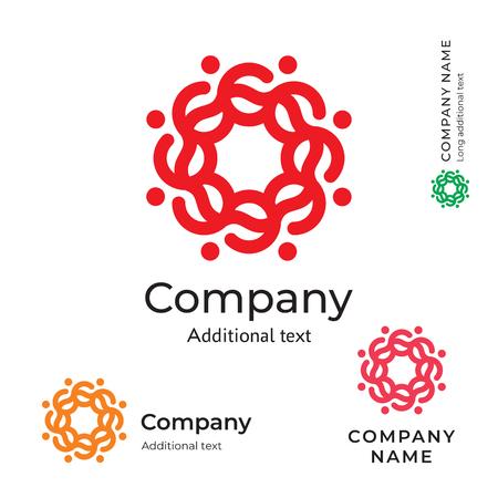 Flower icon ornament folk stylish. Identity beauty brand symbol traditional icon concept set. Template vector illustration.