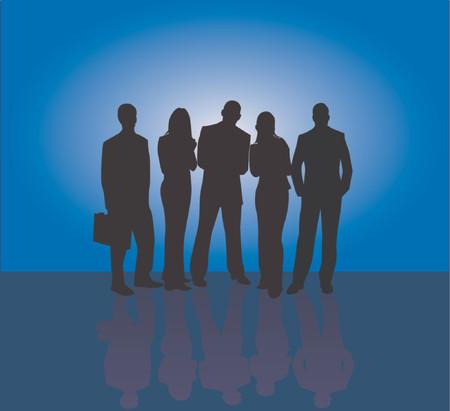 Business team Stock Vector - 541223
