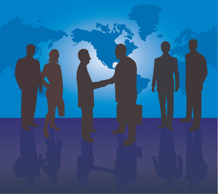 Business team Stock Vector - 541217