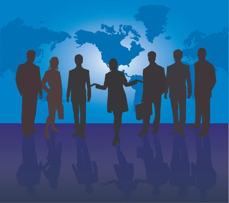 Business team Stock Vector - 541216