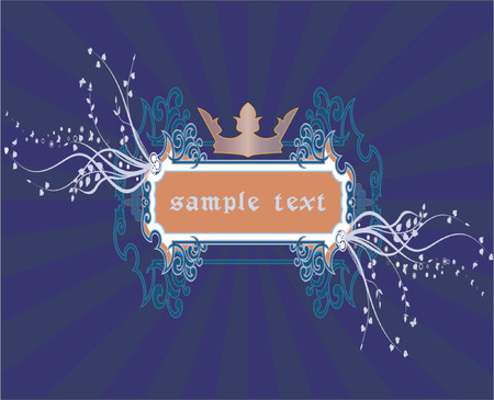 Abstract frame - vector Stock Vector - 866537
