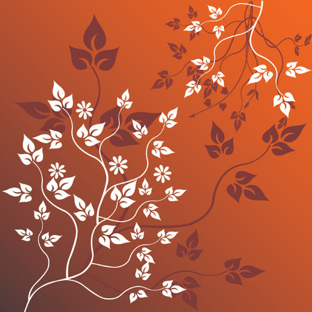 Floral Background - vector Vector