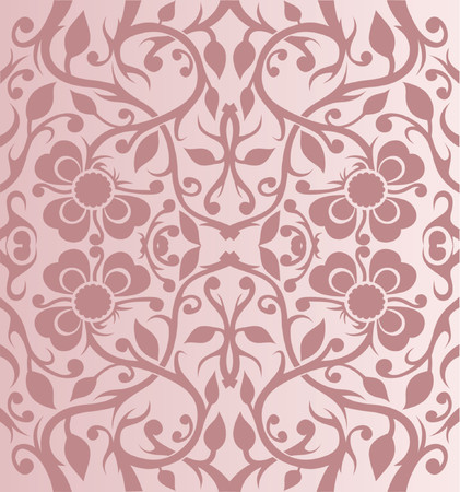 Wallpaper Pattern - vector Stock Vector - 964144