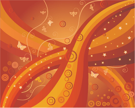 Abstract art Background - vector illustration Stock Vector - 1200655