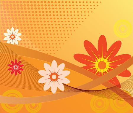 saturated: Abstract Background - vector illustration