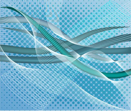 Abstract  decor background  vector illustration Stock Vector - 1537671