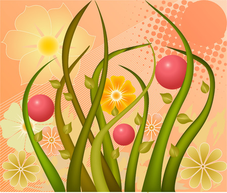 Abstract  art background  vector illustration Vector