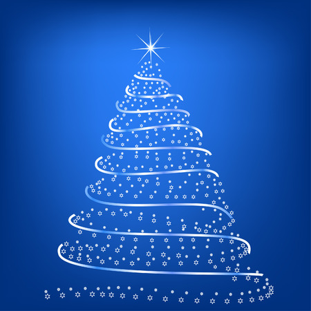miracles: Stylized Christmas tree