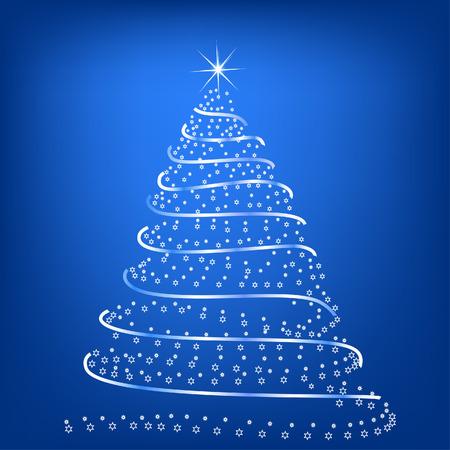 Stylized Christmas tree Stock Vector - 1647188