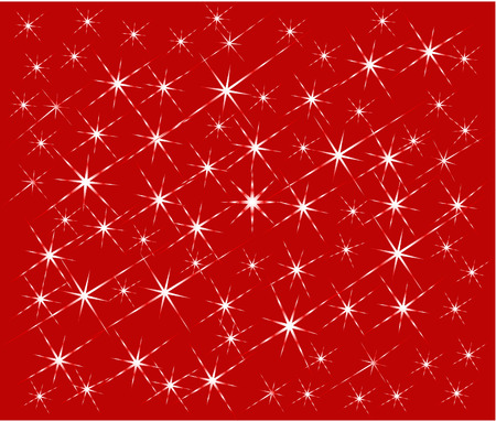 Abstract  artistic magic  background in red - vector Vector