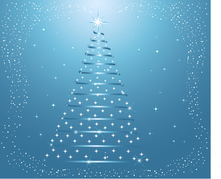 Abstract   Christmas background - vector Stock Vector - 1828023