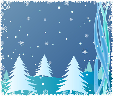 blizzards: Abstract  Christmas background  - vector