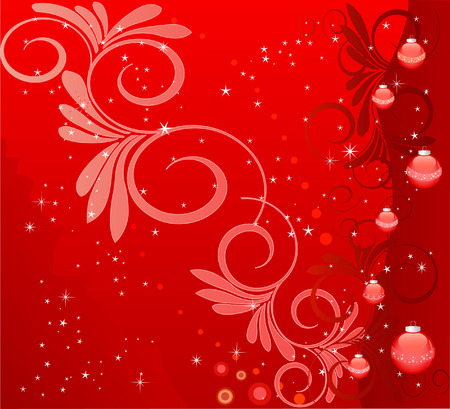 Abstract   Christmas background - vector Vector