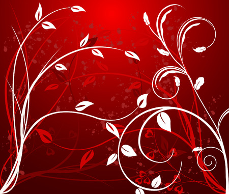 Abstract  floral background - vector Stock Vector - 1976805